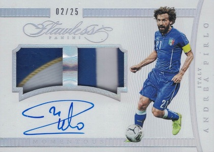 2016 Panini Flawless Soccer Cards 28
