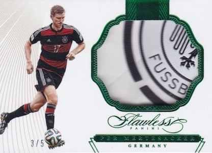 2016 Panini Flawless Soccer Cards 29