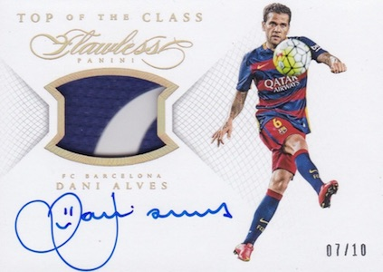 2016 Panini Flawless Soccer Cards 38