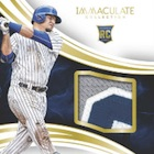 2016 Panini Immaculate Baseball Cards
