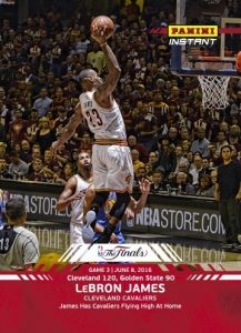 2016 Panini Instant NBA Finals Basketball LeBron James #3