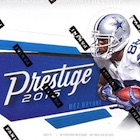 2016 Panini Prestige Football Cards - Print Runs Added for Draft Day Signatures