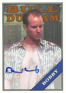 2016 Topps Archives Baseball Bull Durham Autograph David Neidorf as Bobby