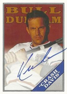 2016 Topps Archives Baseball Bull Durham Autograph Kevin Costner as Crash Davis