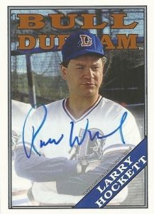 2016 Topps Archives Baseball Bull Durham Autograph Robert Wuhl as Larry Hockett