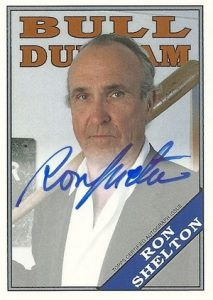2016 Topps Archives Baseball Bull Durham Autograph Ron Shelton Writer Director