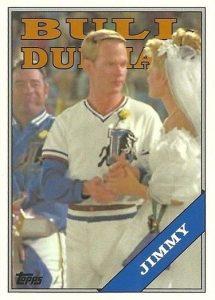 2016 Topps Archives Baseball Bull Durham Insert Jimmy