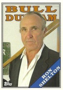 2016 Topps Archives Baseball Bull Durham Insert Ron Shelton