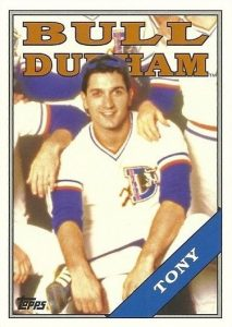 2016 Topps Archives Baseball Bull Durham Insert Tony