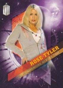 2016 Topps Doctor Who Timeless Companions Across Time Rose Tyler