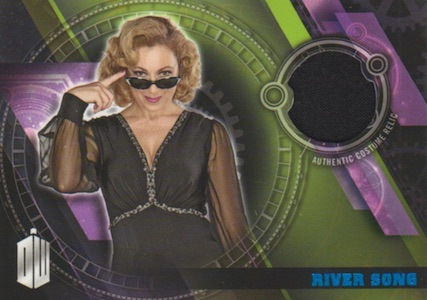 2016 Topps Doctor Who Timeless Costume Relics River Song