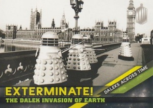 2016 Topps Doctor Who Timeless Daleks Across Time Exterminate