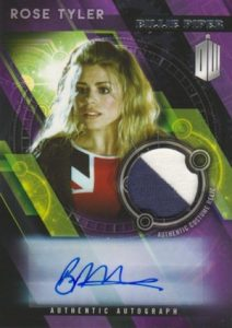 2016 Topps Doctor Who Timeless Signed Costume Relics Rose Tyler Billie Piper