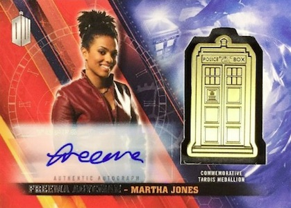 2016 Topps Doctor Who Timeless Signed TARDIS Medallion