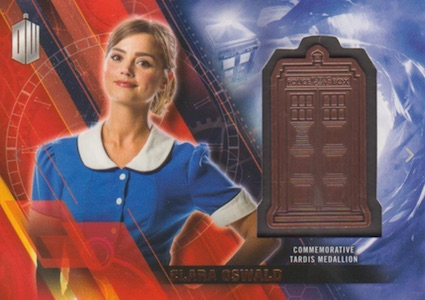 2016 Topps Doctor Who Timeless TARDIS Medallion Bronze