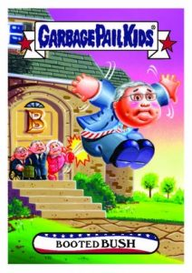 2016 Topps Garbage Pail Kids Presidential Trading Cards - Losers Update 24