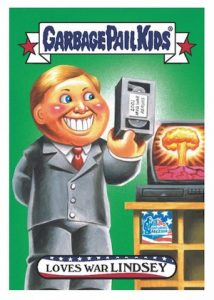 2016 Topps Garbage Pail Kids Presidential Losers Lindsey Graham