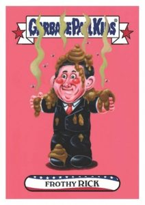 2016 Topps Garbage Pail Kids Presidential Trading Cards - Losers Update 30