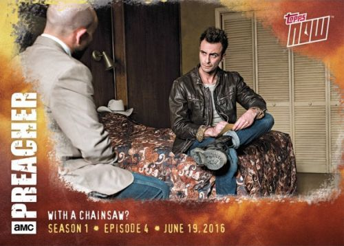 2016 Topps Now Preacher Trading Cards - Episode 10 23
