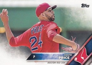 2016 Topps Series 2 Baseball 450 David Price