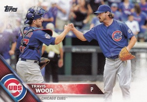 2016 Topps Series 2 Baseball Base 507 Travis Wood