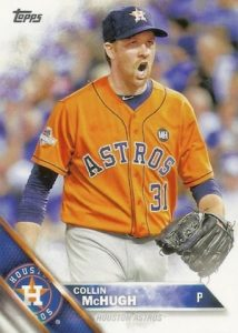 2016 Topps Series 2 Baseball Base 652 Collin McHugh