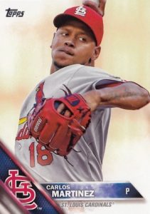 2016 Topps Series 2 Baseball Base 678 Carlos Martinez