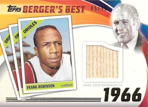 2016 Topps Series 2 Baseball Berger's Best Relics