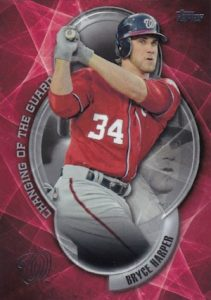 2016 Topps Series 2 Baseball Changing of the Guard Harper