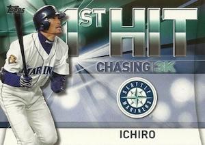 2016 Topps Series 2 Baseball Chasing 3K