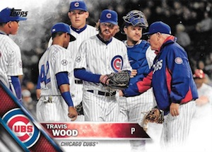 2016 Topps Series 2 Baseball Variations SP Jackie Robinson 42 Travis Wood