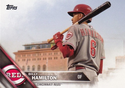 2016 Topps Series 2 Baseball Variations SSP Billy Hamilton