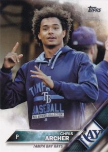 2016 Topps Series 2 Baseball Variations SSP Chris Archer