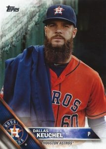 2016 Topps Series 2 Baseball Variations SSP Dallas Keuchel