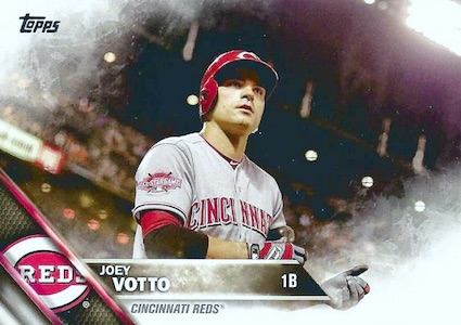 2016 Topps Series 2 Baseball Variations SSP Joey Votto