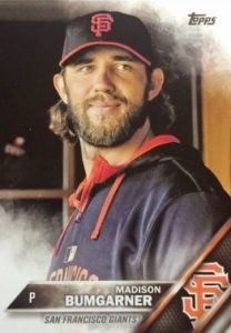 2016 Topps Series 2 Baseball Variations SSP Madison Bumgarner