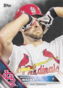 2016 Topps Series 2 Baseball Variations SSP Michael Wacha