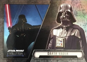 2016 Topps Star Wars Evolution Trading Cards 25