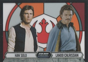 2016 Topps Star Wars Evolution Trading Cards 36
