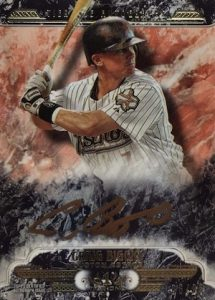 2016 Topps Tier One Baseball Autographs Biggio