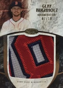 2016 Topps Tier One Baseball Prodigious Patches