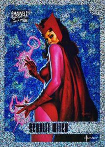 2016 Upper Deck Marvel Masterpieces Holofoil Scarlet Witch