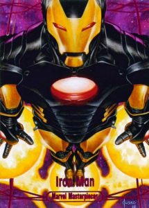2016 Upper Deck Marvel Masterpieces Iron Man