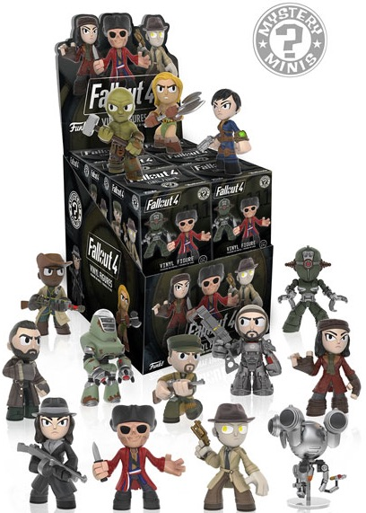 Funko Fallout 4 Mystery Minis Checklist Info Odds Guide