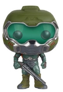 Funko Pop Doom 90 Space Marine 1