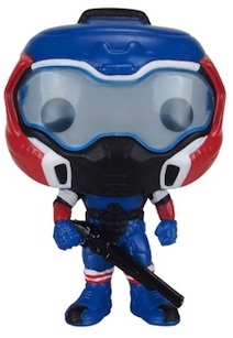 Funko Pop Doom 90 Space Marine American Hero Gamestop exclusive 1