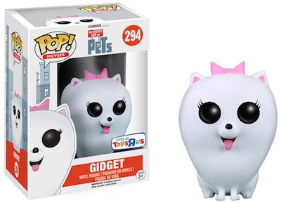 Funko Pop Secret Life of Pets 294 Gidget Flocked ToysRUs