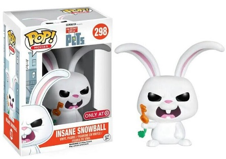 Funko Pop Secret Life of Pets 298 Insane Snowball Target
