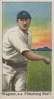 1909-1910 E92 Dockman & Sons Honus Wagner (Throwing)