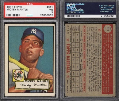 2016 National Vintage Group Breaks 1952 Topps Set Details Spots